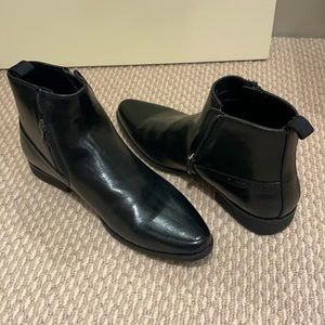 ASOS, Black boots, Size AU 6